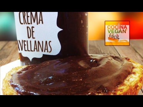 Crema de avellanas tipo nutella cocina vegan f cil for Videos de cocina facil