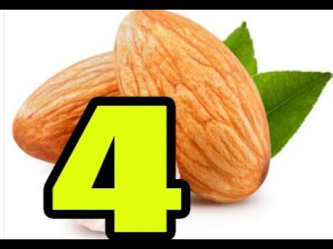 EAT JUST 4 ALMONDS EVERY DAY! AMAZING THINGS WILL HAPPEN TO