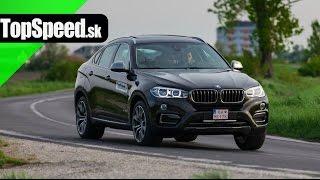 Test BMW X6 3.0d (F16) TopSpeed.sk