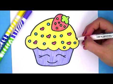 Kawaii Cupcake Malen Youtube