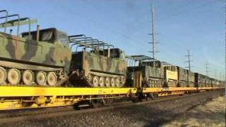 UP Military train.