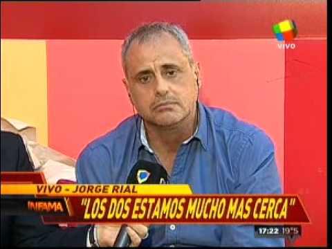 Jorge Rial: Sospecho que pronto vamos a ser cuatro