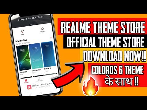 How to Install Official Theme store in Realme | ColorOS 6 Theme in Realme