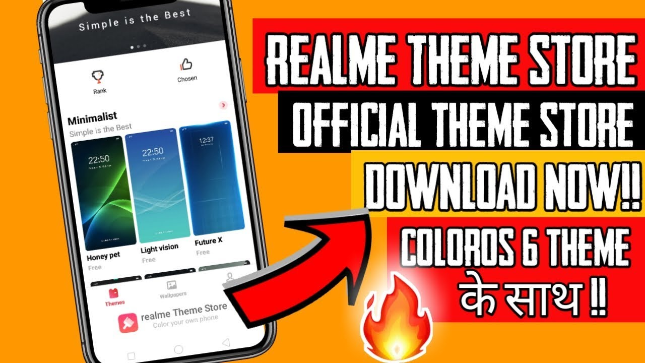 How to Install Official Theme store in Realme   ColorOS 6 Theme in Realme
