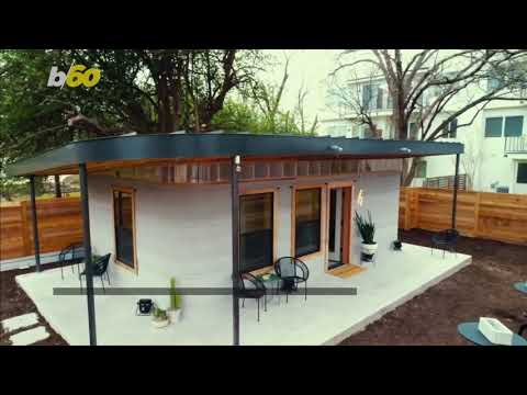 This Shockingly Affordable 3D-Printed House Took Less Than a Day to Build