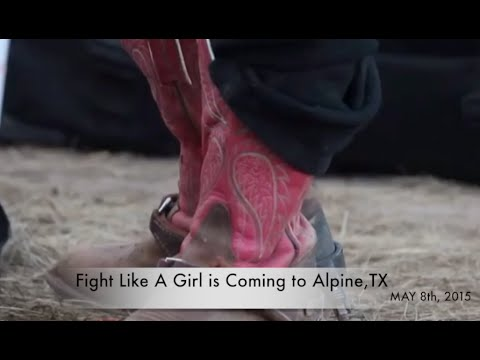 Fight Like A Girl is Going to Texas May 8, 2015