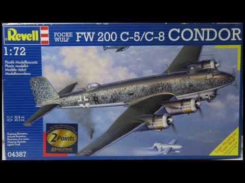 1/72 Revell FW 200 C-5/C-8 Condor Kit# 04387