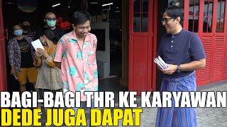 Download ANDRE BAGI-BAGI THR KE KARYAWAN.. DEDE JUGA DAPAT.. SEMUA HAPPY