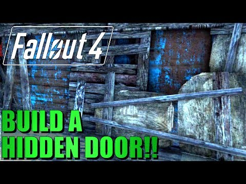 Fallout 4 - This Mod Lets You Bend Doors to Your Will - (PC)