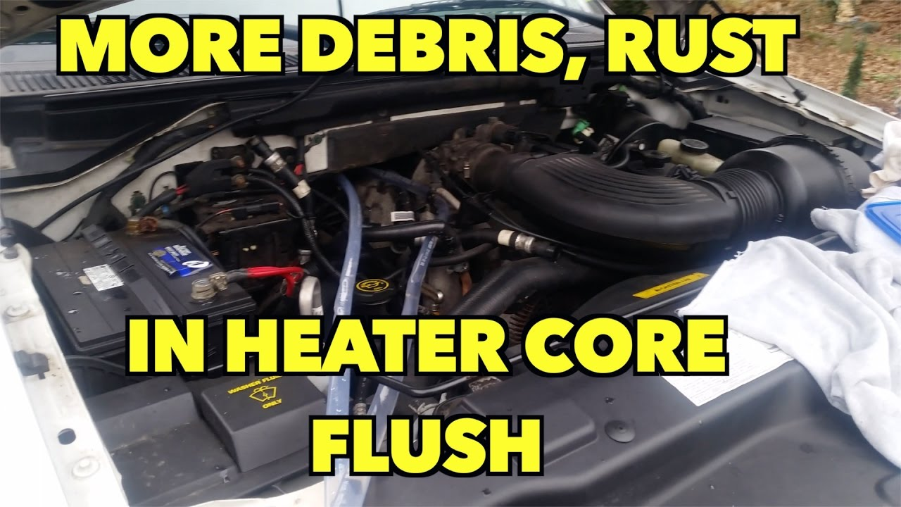 medium resolution of heater core flush never ending 2000 ford expedition and maybe your vehicle