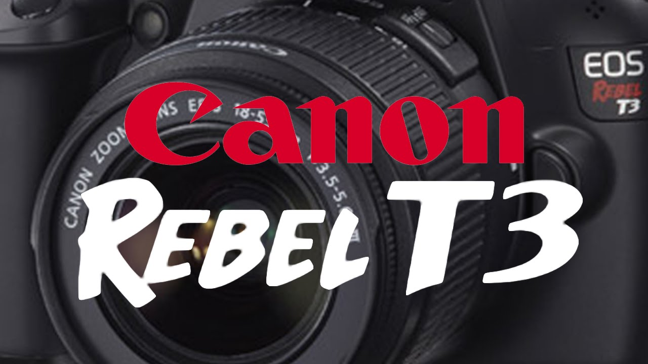 Canon EOS Rebel T3 - Magic Lantern
