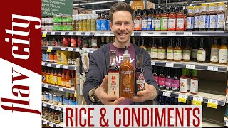 Shopping For Asian Condiments & Rice - What To Buy...And Avoid!