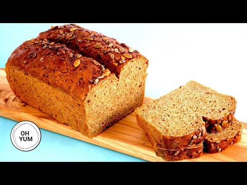 DELICIOUS Seeded Rye Bread Recipe | Anna Olson Archives