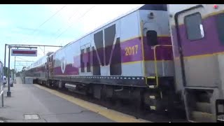 Super Rare!! MBTA Equiptment Move Flys Through Mansfiled At 80mph 6.17.15