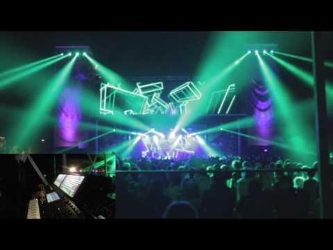 Lighting operator for Borgore (dubstep) - 100% LIVE (Full version)