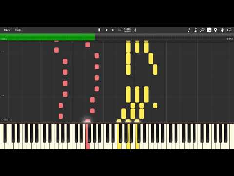 Running in the 90's (Synthesia - Piano)