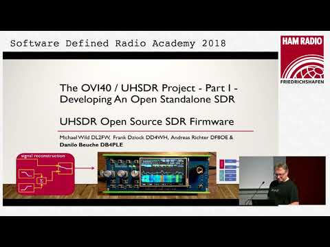 DF8OE, DB4PLE, DL2FW, DD4WH: The OVI40 / UHSDR Project - Part 1 and 2