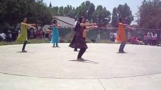 Arcadia High School 'Diversity week' India Club performance!!