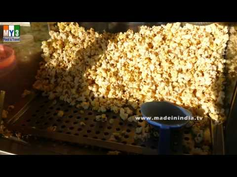 Popcorn | Machine Made | ROAD SIDE STREET FOOD  | INDIA | 4K VIDEO