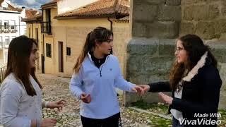 Storytelling de Santa Teresa, grupo 7, #encuentroESOFET2018 Ávila