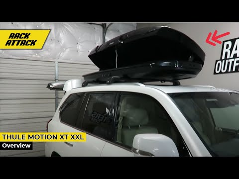 Lexus LX 570 with Thule Motion XT XXL 22 Cubic Foot Roof Top Luggage Carrier Box