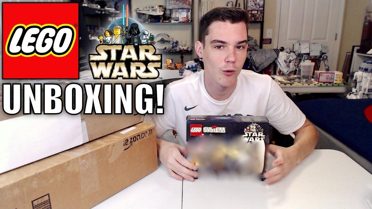 More Vintage Lego Star Wars Sets Unboxing Lego Ebay Haul