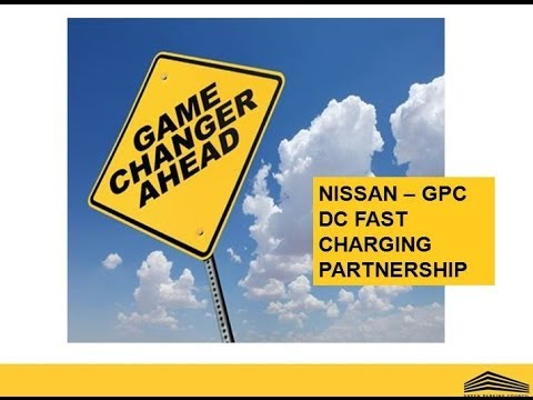Nissan - Green Parking Council - DC Fast Charge EV Partnership