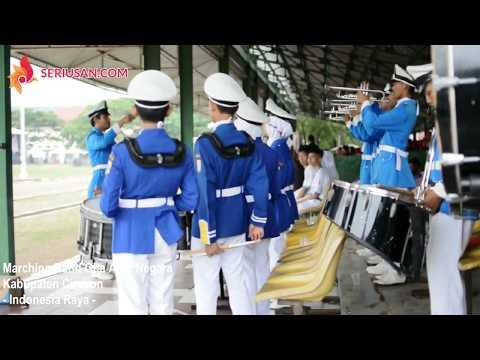 Indonesia Raya Anthem By Marching Band Gita Abdi Negara Kabupaten Cirebon