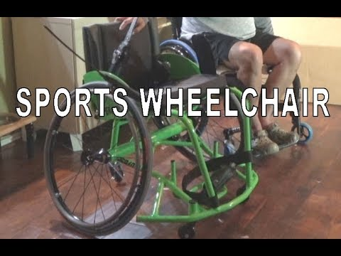 Getting My New Sports Wheelchair - Tennis/Basketball/Soccer/Rugby