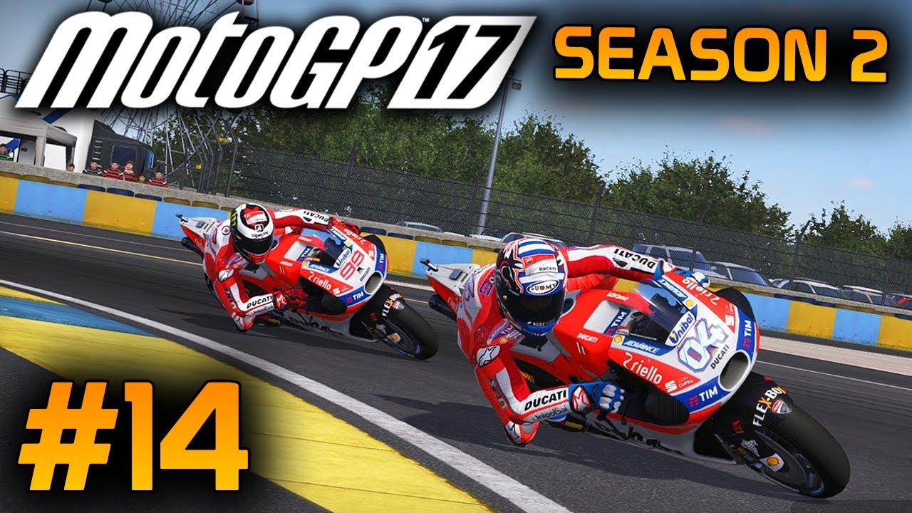 MotoGP 17 Career Mode Part 14: LAST MOTO 2 RACE! (Rider Career - MotoGP 2017 PS4 Gameplay) - YouTube