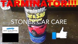Stoner Car Care TARMINATOR Tar and Sap remover!!! Also bug and transfer remover!!