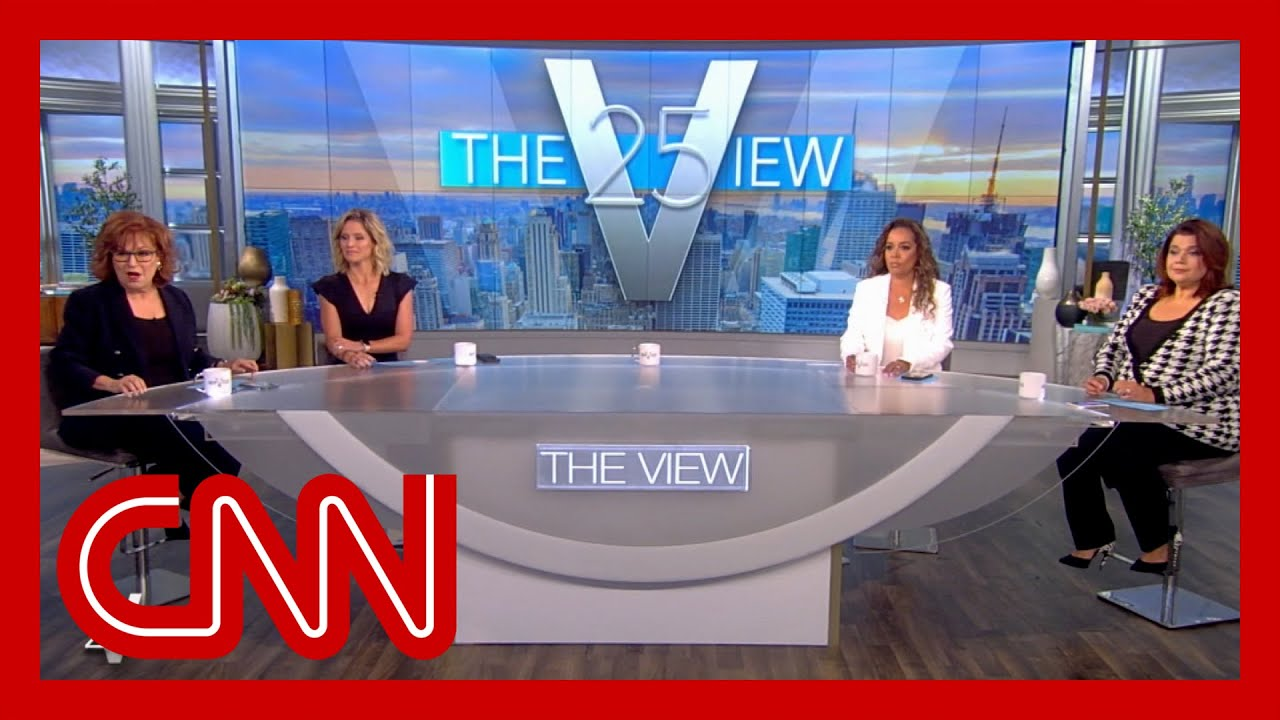 Download 'The View' hosts announce co-stars' breakthrough Covid cases before VP's planned interview