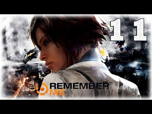 Смотреть прохождение игры Remember me. Серия 11 - Побег от безумца.