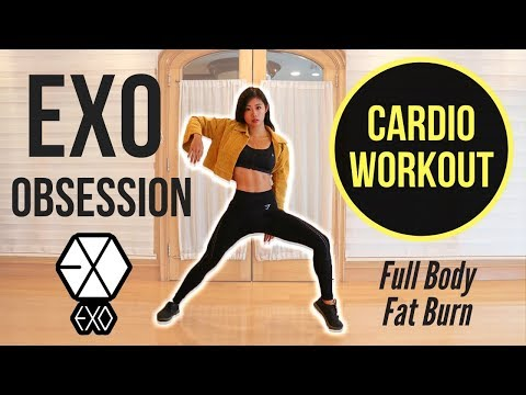 EXO 'Obsession' CARDIO WORKOUT For Intense Full Body Fat Burn Emi