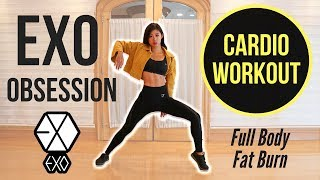 EXO 'Obsession' CARDIO WORKOUT For Intense Full Body Fat Burn ~ Emi
