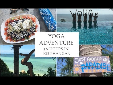 KO PHANGAN TRAVEL GUIDE | 35-hour Island Yoga Adventure | CAT MEFFAN