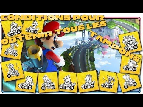 Mario kart 8 comment obtenir tous les tampons wii u - Tous les personnages mario kart wii ...