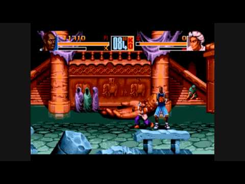 Awful Genesis Games: Shaq Fu Review