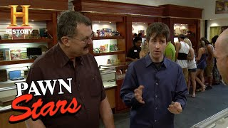 Pawn Stars: American One-Cent Coin Is Neither American nor a Coin (Season 10) | History