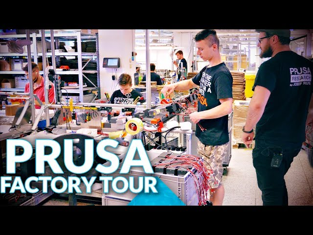 ab084282f08 Prusa Factory Tour - Tom s 3D printing guides and reviews