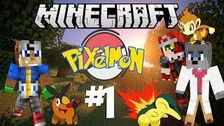 ΕΝΑ ΚΑΙΝΟΥΡΓΙΟ ΤΑΞΙΔΙ ΞΕΚΙΝΑ! (Minecraft: Pixelmon) #1