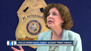St. Pete Police investigating threat made against Pride Parade