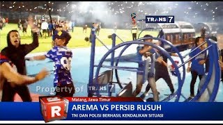 TRANS7 JATIM - Rusuh!! Arema VS Persib