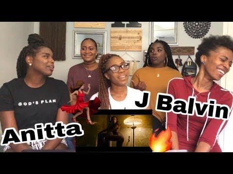 Anitta & J Balvin - Downtown (Official Music Video) REACTION