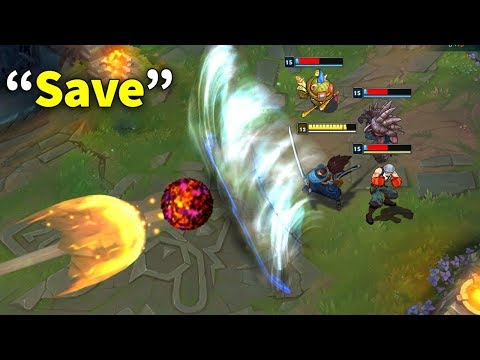 Best Saves Montage (200IQ Yasuo save, Ashe save, Bard ult save...)