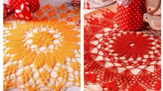 Ажурные салфетки крючком   Crochet Openwork Napkins