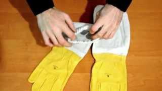Кожаные перчатки пчеловода
