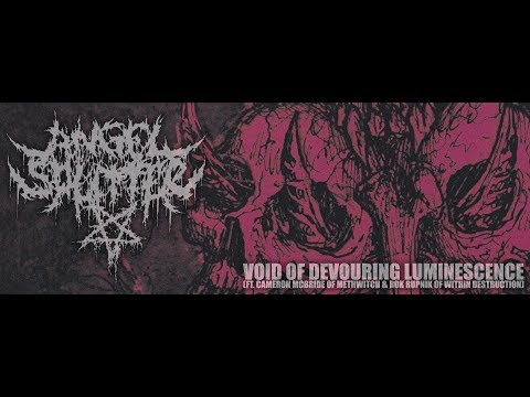 ANGEL SPLITTER - VOID OF DEVOURING LUMINESCENCE [OFFICIAL LYRIC VIDEO] (2017) SW EXCLUSIVE