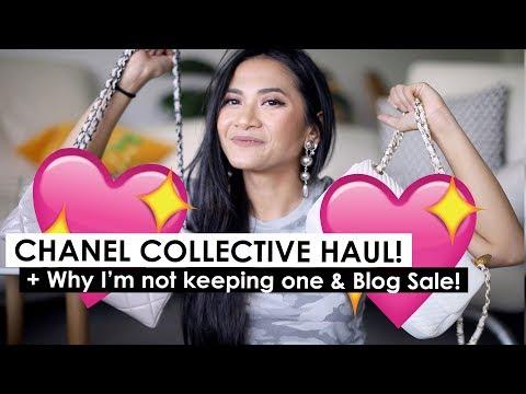 CHANEL COLLECTIVE HAUL (& FAIL) + Blog sale!