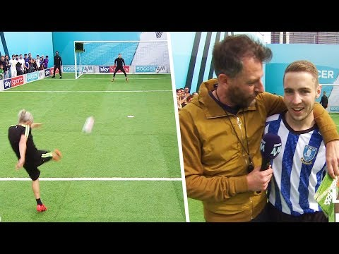 Jimmy Bullard goes head-to-head against a nervous Sheffield Wednesday fan   You Know The Drill LIVE